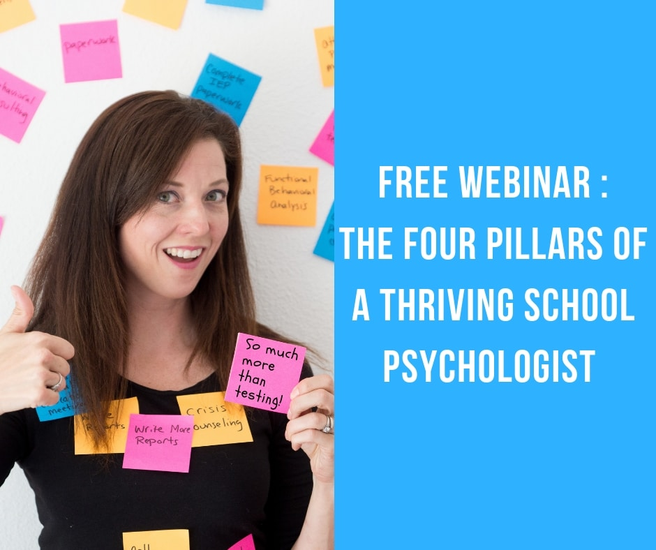 free webinar for school psychologists