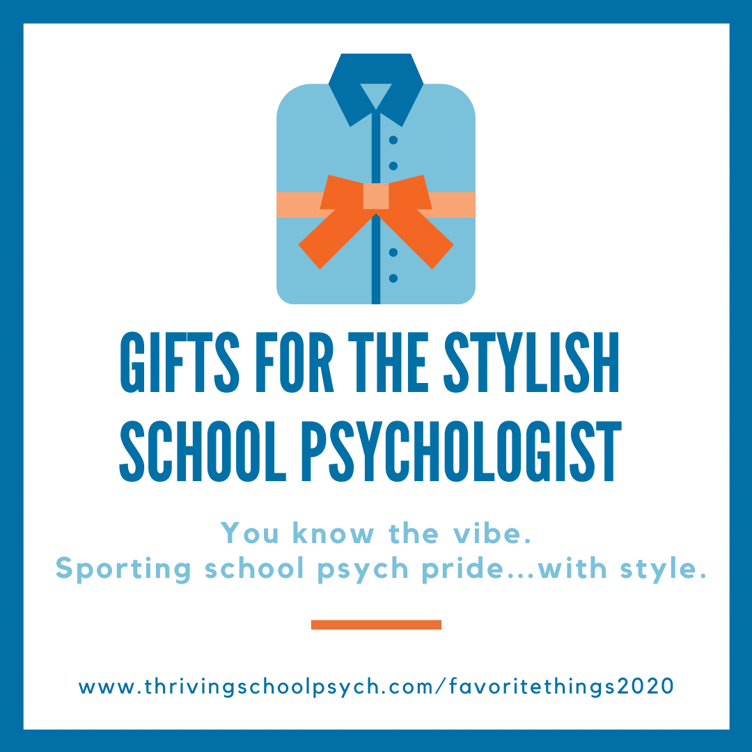Clothing Gifts for School Psychologists